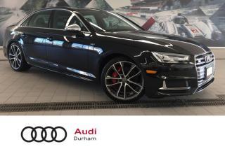 Used 2018 Audi S4 3.0T Progressiv + Nav | Rear Cam | Sunroof for sale in Whitby, ON