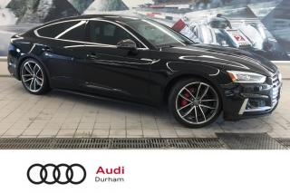 Used 2018 Audi S5 Sportback 3.0T Technik + Driver Assist | B & O | Nav for sale in Whitby, ON