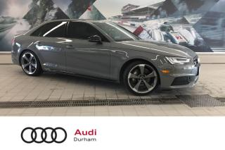 Used 2018 Audi A4 2.0T Technik + Heated Seats | S-Line | Rear Cam for sale in Whitby, ON