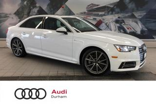 Used 2017 Audi A4 2.0T Progressiv + Nav | Rear Cam | CarPlay for sale in Whitby, ON