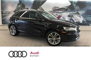 Used 2017 Audi Q3 2.0T Progressiv + Pano Roof   Rear Cam   Nav for sale in Whitby, ON