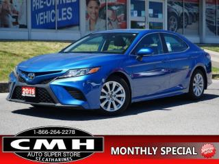 Used 2019 Toyota Camry SE  CAM LANE-DEP HTD-SEATS P/SEAT 17-AL for sale in St. Catharines, ON