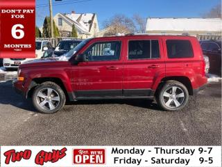 Used 2016 Jeep Patriot 4WD High Altitude Leather Moonroof for sale in St Catharines, ON