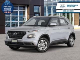 New 2021 Hyundai Venue Preferred IVT  - $146 B/W for sale in Brantford, ON