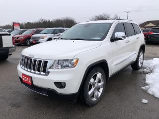 Used 2012 Jeep Grand Cherokee OVERLAND! HEATED COOLED LEATHER! REMOTE START! for sale in Aylmer, ON