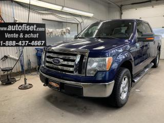 Used 2011 Ford F-150 4WD SuperCrew 157  XLT $109.30/sem+taxes for sale in St-Raymond, QC
