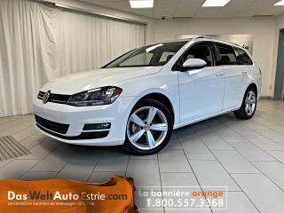 Used 2015 Volkswagen Golf Sportwagen TDI Highline, Cuir, Toit, Automatique for sale in Sherbrooke, QC