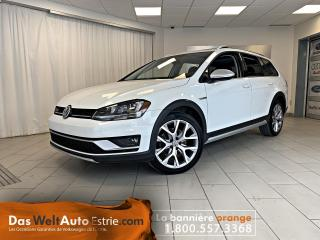Used 2017 Volkswagen Golf Alltrack 4Motion, Cuir, Toit, Automatique for sale in Sherbrooke, QC
