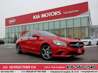 Used 2014 Mercedes-Benz CLA-Class CLA250 | CLEAN CARFAX | NAVI | PANO ROOF |63,299K for sale in Georgetown, ON