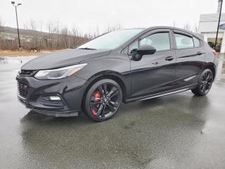 Used 2018 Chevrolet Cruze LT / RS, EDITION RED LINE, 5 PORTES, for sale in Vallée-Jonction, QC