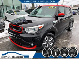 Used 2018 Kia Soul EV EV LUXURY NAVIGATION, CUIR, MAGS, BLUETO for sale in Blainville, QC