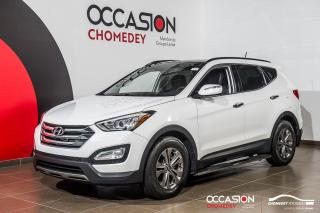 Used 2015 Hyundai Santa Fe Sport AWD+TOIT PANO+MARCHE-PIEDS+SIEG CHAUFF+CAM/RECUL for sale in Laval, QC