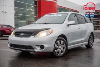 Used 2007 Toyota Matrix BASE/ VERITABLE AUBAINE UNE AUBAINE INCROYABLE for sale in Terrebonne, QC