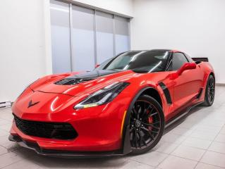 Used 2017 Chevrolet Corvette Z06 3LZ *GR. PERFORMANCE Z07* BREMBO *BOSE* PROMO for sale in St-Jérôme, QC