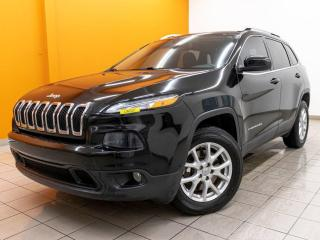 Used 2017 Jeep Cherokee NORTH 4X4 CAMÉRA SIÈGES / VOLANT CHAUFF *BAS KM* for sale in St-Jérôme, QC