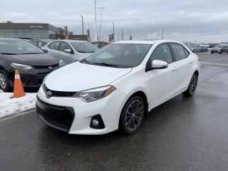 Used 2016 Toyota Corolla * S * TOIT OUVRANT * MAGS & CAMÉRA DE RECUL * for sale in Mirabel, QC