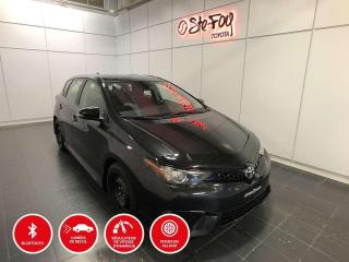 Used 2017 Toyota Corolla iM MANUELLE - CAMERA DE RECUL - SIÈGES CHAUFFANTS for sale in Québec, QC