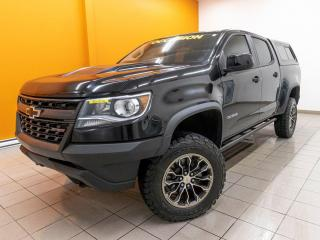 Used 2019 Chevrolet Colorado ZR2 CREW 4X4 SIÈGES / VOLANT CHAUFFANT *CUIR* for sale in St-Jérôme, QC