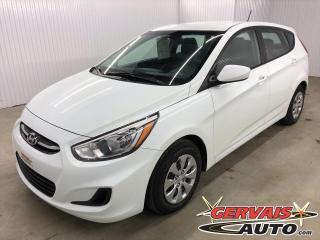 Used 2016 Hyundai Accent GL BLUETOOTH A/C SIÈGES CHAUFFANTS *Hatchback* for sale in Shawinigan, QC