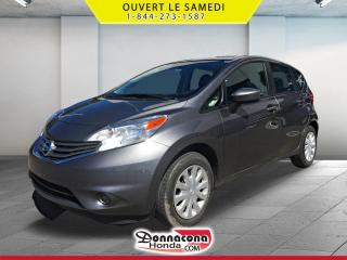 Used 2016 Nissan Versa 1.6 S *JAMAIS ACCIDENTE* for sale in Donnacona, QC