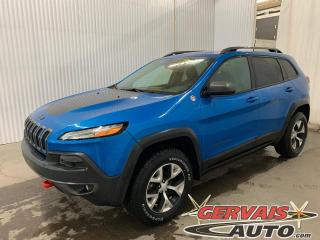 Used 2017 Jeep Cherokee Trailhawk V6 4x4 Mags Cuir/Tissus Caméra *Ensemble Temps Froid* for sale in Shawinigan, QC