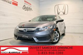 Used 2016 Honda Civic LX for sale in Blainville, QC