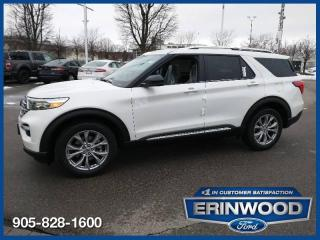 New 2021 Ford Explorer LIMITED for sale in Mississauga, ON