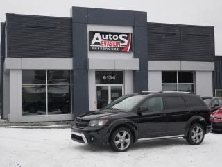 Used 2016 Dodge Journey AWD Crossroad + 7 PLACES + CUIR + GPS + TOIT for sale in Sherbrooke, QC