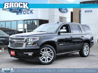 Used 2017 Chevrolet Tahoe Premier for sale in Niagara Falls, ON