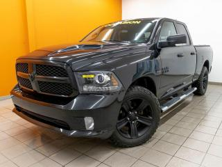 Used 2018 RAM 1500 NIGHT EDITION SPORT 4X4 *SIÈGES / VOLANT CHAUFF* for sale in Mirabel, QC