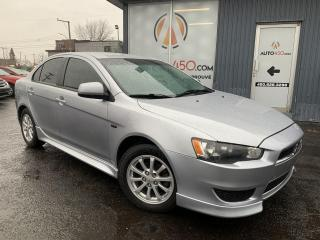 Used 2012 Mitsubishi Lancer ***SE,BERLINE,BAS KILO,A/C,BLUETOOTH*** for sale in Longueuil, QC