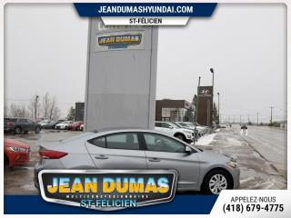 Used 2017 Hyundai Elantra MODÈLE GL A/C GR ÉLECT CAMÉRA SIÈGE CHAU for sale in St-Félicien, QC