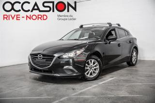 Used 2016 Mazda MAZDA3 Sport GS MAGS+SIEGES.CHAUFFANTS+CAM.RECUL for sale in Boisbriand, QC