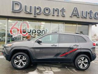 Used 2016 Jeep Cherokee Trailhawk 4 portes 4 roues motrices for sale in Alma, QC