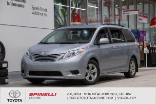Used 2015 Toyota Sienna LE FWD! CERTIFIE TOYOTA! for sale in Lachine, QC