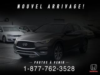 Used 2017 Infiniti QX30 PREMIUM + AWD + CUIR + TOIT + WOW! for sale in St-Basile-le-Grand, QC