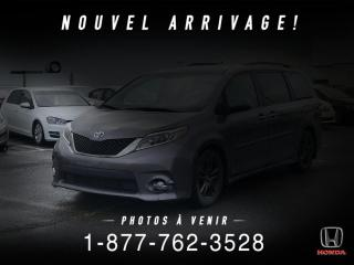 Used 2017 Toyota Sienna SE + 7 PLACES + NAVI + CUIR + MAGS + WOW for sale in St-Basile-le-Grand, QC