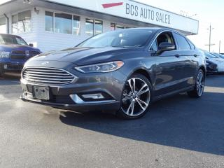Used 2017 Ford Fusion Titanium for sale in Vancouver, BC