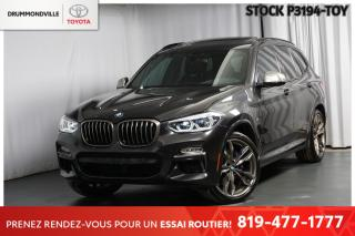 Used 2018 BMW X3 M40I  ** ÉTAT EXCEPTIONNEL!! ** for sale in Drummondville, QC