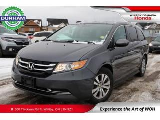 Used 2017 Honda Odyssey w/Rear Entertainment System for sale in Whitby, ON