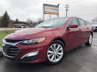 Used 2019 Chevrolet Malibu LT Heated Seats, AutoStart, BackupCam, CarPlay, Pwr Seat, Alloy Wheels, Dual Zone Air and More! for sale in Kemptville, ON