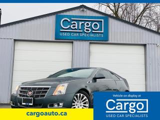 Used 2011 Cadillac CTS CTS4 for sale in Stratford, ON