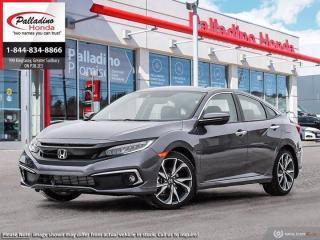 New 2020 Honda Civic Sedan Touring for sale in Sudbury, ON