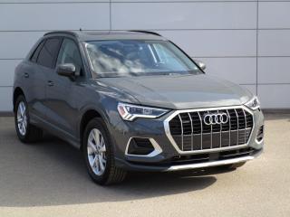 New 2021 Audi Q3 45 Komfort HEATED STEERING, CARPLAY for sale in Regina, SK