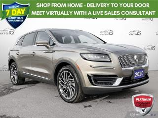 Used 2020 Lincoln Nautilus Reserve AWD/Leather/Navi/Roof for sale in St Thomas, ON