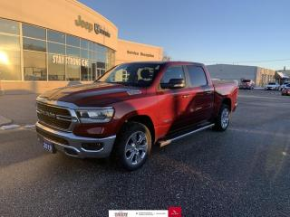 Used 2019 RAM 1500 Big Horn Nav/Heated Seats/Blindspot Monitor for sale in Chatham, ON