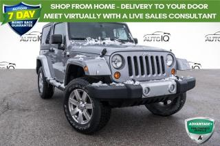 Used 2013 Jeep Wrangler Sahara RARE 6 SPEED MANUAL! HEATED SEATS!!! NAVIGATION!!! for sale in Barrie, ON