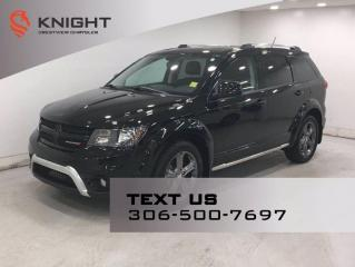 Used 2017 Dodge Journey Crossroad AWD | Leather | Sunroof | Navigation | DVD | for sale in Regina, SK