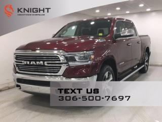 Used 2019 RAM 1500 Laramie Crew Cab | Leather | Navigation | Sunroof | for sale in Regina, SK