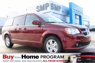 Used 2020 Dodge Grand Caravan Crew - Heated Leather, DVD, Pwr Sliding Doors, Pwr Lft Gate for sale in Saskatoon, SK